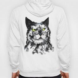 Black and White Cat Hoody