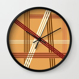 Fall 1 Wall Clock