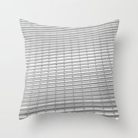 gray pattern Throw Pillows featuring Gray Pattern by theGalary