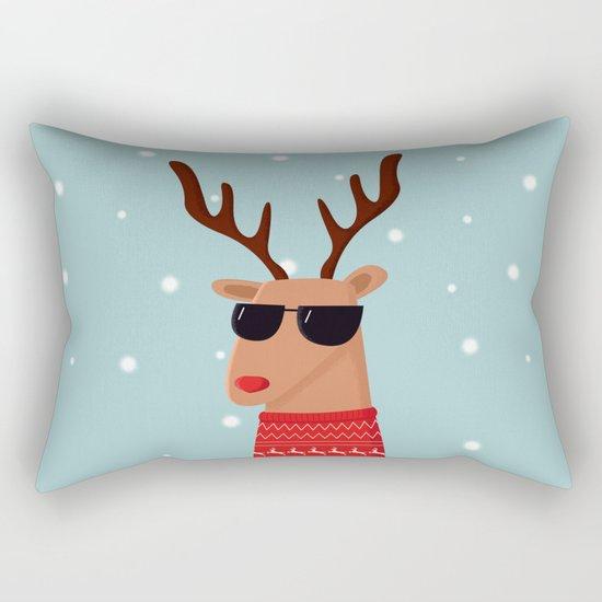 Merry Christmas Dude Rectangular Pillow
