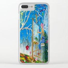 Fairy Artist Clear iPhone Case
