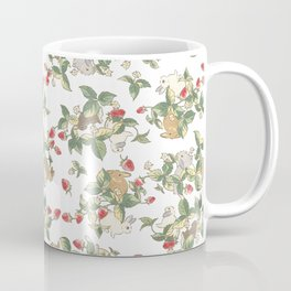Strawberry fields bunnies Coffee Mug