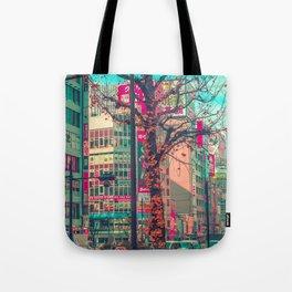 TOKYO CITY TREE Tote Bag