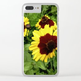 Flowers In Mid-Summer Clear iPhone Case