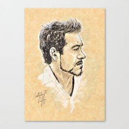 RDJ Portrait Canvas Print