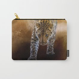 Russian Amur Leopard Carry-All Pouch