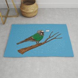 Annoyed IL Birds: The Sparrow Rug