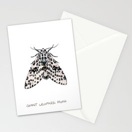 Giant Leoprd Moth Stationery Cards