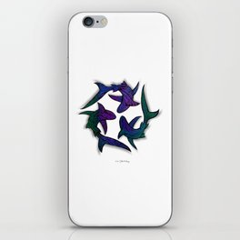 SHARK CIRCLE II iPhone Skin