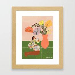 Tory´s flowers Framed Art Print