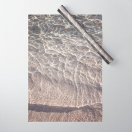 Water Reflections Photography Wrapping Paper