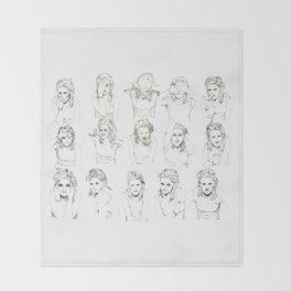 Kristen Stewart Sketches Throw Blanket