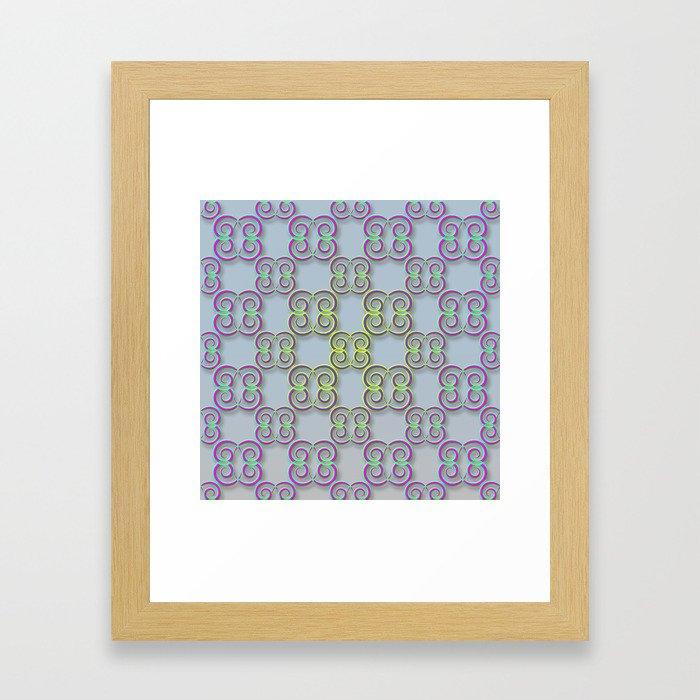 swirla Framed Art Print