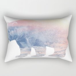King of the Clouds Rectangular Pillow