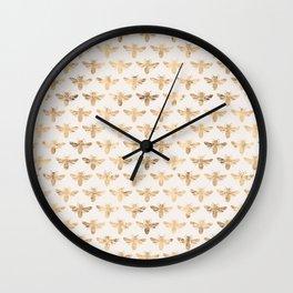 Honey Bees (Sand) Wall Clock