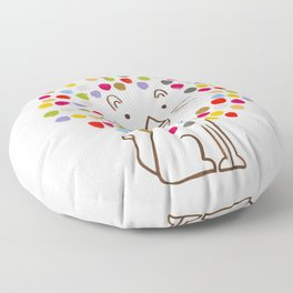 Dandy Lion Floor Pillow