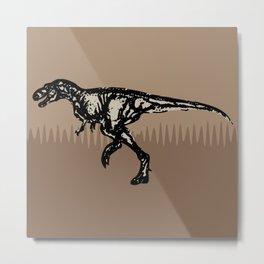 ChocoPaleo: Tyrannosaurus Rex Metal Print
