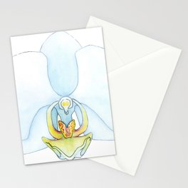 Orchid Dissection Stationery Cards