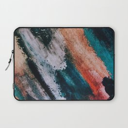 Chaos: a mixed media abstract in a variety of vibrant colors Laptop Sleeve