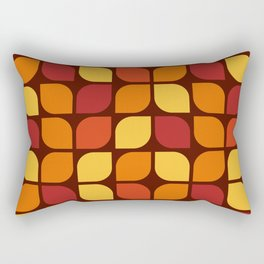 Vintage 60s geometry pattern 18 Rectangular Pillow
