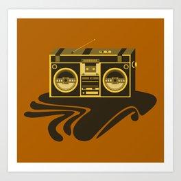 Radio Head Art Print