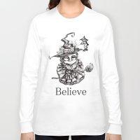 oz Long Sleeve T-shirts featuring Oz by artlandofme