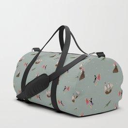 Neverland Pattern Duffle Bag