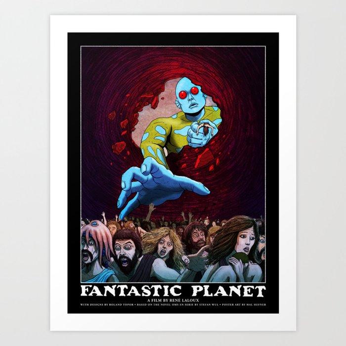 FANTASTIC PLANET  - THE HAND OF TERROR Art Print