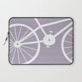 Purple Bike Laptop Sleeve