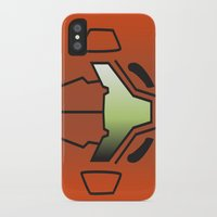 metroid iPhone & iPod Cases featuring Metroid Samus by JAGraphic