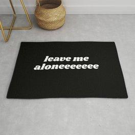 leave me aloneeeeee Rug