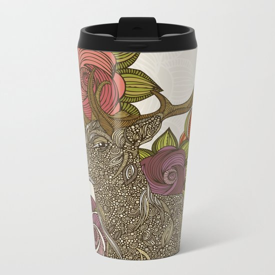 Dear deer Metal Travel Mug