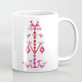 Ethnic Kilim Pattern Tree of Life Coffee Mug