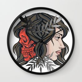 Two Face Wall Clock