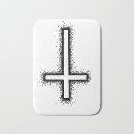 Inverted Cross Bath Mat