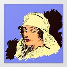 Nurse portrait WW1 Canvas Print