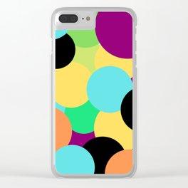 Festa da decoração moderna Clear iPhone Case
