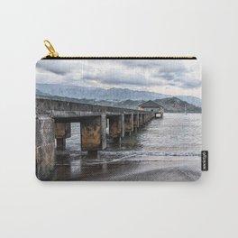 Hanalei Pier Kauai  Carry-All Pouch