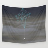 spider Wall Tapestries featuring Spider by Tony Vazquez