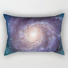 Pinwheel Galaxy Rectangular Pillow