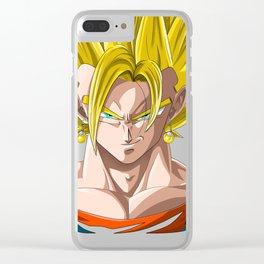 Vegeth super Saiyan Clear iPhone Case