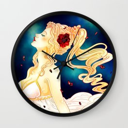 Goddess of the Harvest Wall Clock