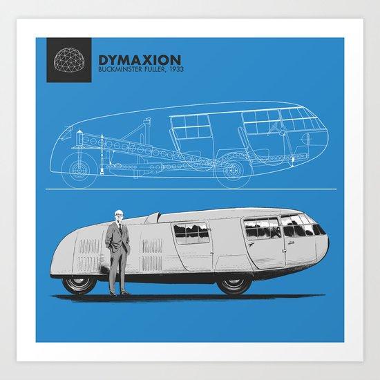 Dymaxion Art Print