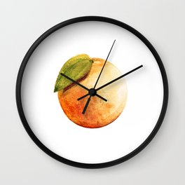 orangie Wall Clock