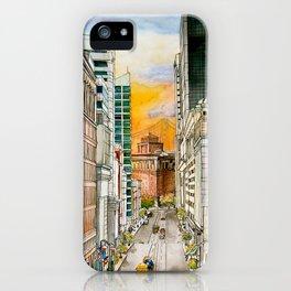 San Francisco at Dusk iPhone Case