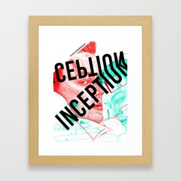 Inception - Movie Inspired Art Framed Art Print