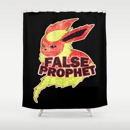 False Prophet Shower Curtain