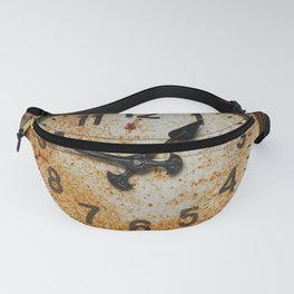 Old wall clock Fanny Pack