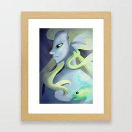 Ghost Fish Framed Art Print