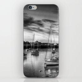 Monochrome Sunset iPhone Skin